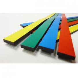 Magnet Color Strips (4 colors: Blue/Green/Red/Yellow 12″x0.5″x0.12″)